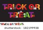 different alphabet of halloween ...   Shutterstock .eps vector #182199938
