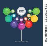 business presentation or info...   Shutterstock .eps vector #1822017632