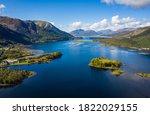 Aerial Image Of Loch Linnhe In...