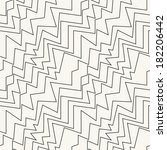 seamless pattern with zigzag... | Shutterstock .eps vector #182206442