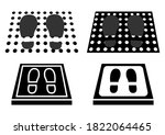 disinfectant mat. set of...   Shutterstock .eps vector #1822064465