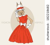 Fashion Illustration Of...