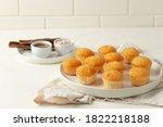 Vanilla Mini Muffins In Light...
