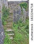 Staircase at the Panagia Monastery of Arkoudila