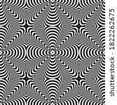 abstract seamless geometric op...   Shutterstock .eps vector #1822262675