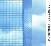 sky high business   conceptual... | Shutterstock . vector #182228792