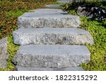 Stone Stairs Connecting Garden...