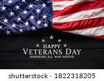Happy veterans day. american...