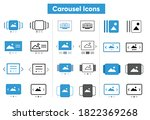 carousel ui icons  image. photo ...