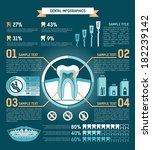 tooth infographic  treatment ... | Shutterstock . vector #182239142