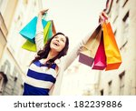 Shopping And Tourism Concept  ...