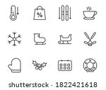 clothes line vector icons...
