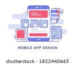 mobile app design ui wireframe...