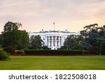 White House Frontal View During ...