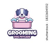 Cute Grooming Dog Pet Care...
