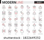 baby care flat web icon vector... | Shutterstock .eps vector #1822649252
