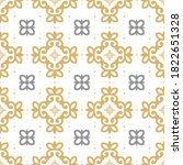 vintage pattern with light... | Shutterstock .eps vector #1822651328