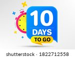countdown left days banner with ...   Shutterstock .eps vector #1822712558