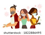 protecting yourself from... | Shutterstock .eps vector #1822886495