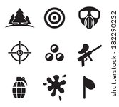 Paintball Icons
