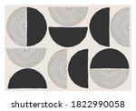trendy abstract aesthetic... | Shutterstock .eps vector #1822990058