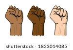 black lives matter banner for... | Shutterstock .eps vector #1823014085