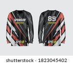 sport jersey abstract...   Shutterstock .eps vector #1823045402