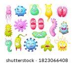 microorganism  bacteria ...   Shutterstock .eps vector #1823066408