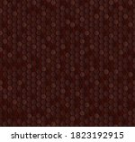 brown honeycomb mosaic....   Shutterstock .eps vector #1823192915
