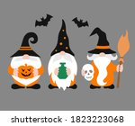 vector gnomes isolated.... | Shutterstock .eps vector #1823223068