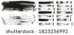 flat paint brush thin long... | Shutterstock .eps vector #1823256992