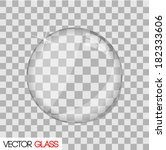 glass lens illustration.  eps... | Shutterstock . vector #182333606