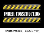 under construction dirty sign...