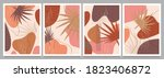 hand drawn various shapes and... | Shutterstock .eps vector #1823406872
