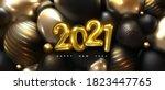 Happy New 2021 Year. Holiday...