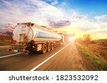 Big White Tanker Truck Shipping ...