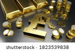 pound stands out from other... | Shutterstock . vector #1823539838