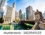 Beautiful View Of Chicago River ...