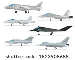 Reactive Jet Collection. Vector ...