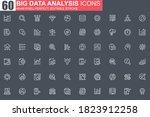 big data analysis thin line...