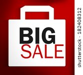 big sale | Shutterstock . vector #182408312