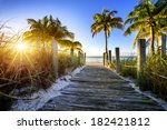 Way To The Beach In Key West ...