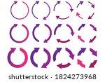 colored circles arrows....
