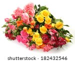 fine roses | Shutterstock . vector #182432546