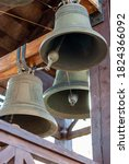 Church Bells Hanging In A...