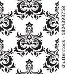 damask seamless pattern... | Shutterstock .eps vector #1824393758