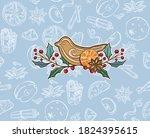 Christmas Decorations  Set. Fi...