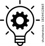 vector innovation icon. light...   Shutterstock .eps vector #1824412865