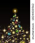 beautiful glitter background... | Shutterstock .eps vector #1824433562