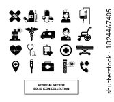 vector image. icons of objects...   Shutterstock .eps vector #1824467405